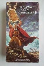 The Ten Commandments VHS - Cecil B. DeMille Unopened