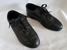 EASY SPIRIT Anti-Gravity Walking Athletic Shoes Black Leather Lace Up 8 B / 2A