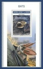 Sierra Leone - 2018 Bats on Stamps - Stamp Souvenir Sheet - SRL18903b