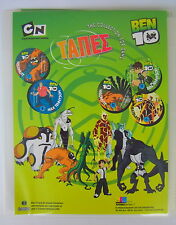 Rare Album For Greek Ben 10 TAPES TOPS Game Toy Collection CN Cartoon Network