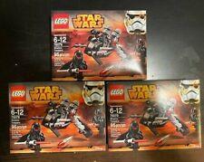 Lego 75079 - Star Wars - Lot of 3 Shadow Troopers -  Retired - NISB