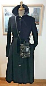Alexander Wang Attica Black Leather Mini Crossbody Backpack