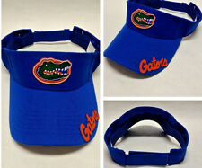 READ LISTING! Florida Gators  HANDCRAFTED FLAT LOGOS on Visor Cap Hat. 2 logos!