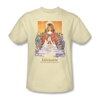 Labyrinth Movie Poster T-shirt retro 80's cool graphic printed cotton tee LAB101