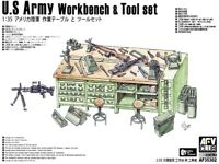 AFV Club 1/35 AF35302 US Army Workbench and Tool Set