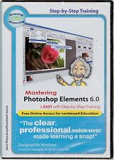 Amazing eLearning Mastering Adobe Photoshop Elements 6.0 training tutorial PC CD