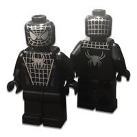 LEGO Custom PAD Printed Spider-Man 3 Black Suit Classic Look Minifigure Minifig