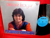 """FRANCO CIPRIANI Amore fragile OST LP 1983 ITALY Dal Film """"O surdato nnamurato"""""""