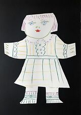 """PICASSO LITHOGRAPH """"Une Poupee Découpée"""" from Marina Estate Signed Numbered, COA"""