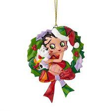Romero Britto Betty Boop And Puggy Ornament * New * Gift Box