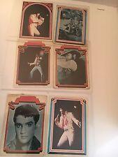 6 ELVIS PRESLEY 1978  Trading Cards