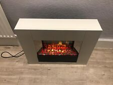 Dimplex white Electric Fireplace with Remote control