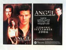 CHEAP PROMO CARD: Angel Season 5 Inkworks 2004 #A5-2 ONE SHIP FEE PER ORDER