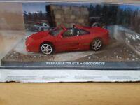 James Bond 007 Car Collection Diecast Ferrari F355 GTS Goldeneye