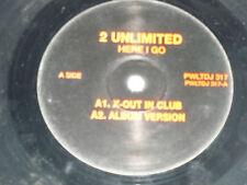 "2 UNLIMITED - Here I Go - 1995 UK DJ Promo 4-track 12"" Vinyl Single"