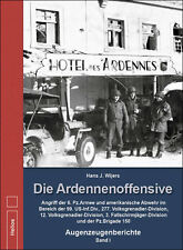Die Ardennen-Offensive 6. Panzer Armee 99 US-Inf.Division Westfront Buch Band 1