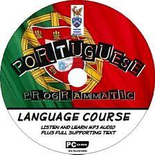 Découvrez 2 portugais cd cours de langue facile débutant programme MP3 + texte nouveau