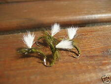 4 V Size 12 Ultimate Para Olive Emerger Trout Dry Flies