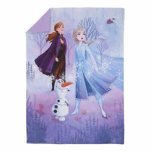 "Disney Frozen Elsa & Anna  Toddler Bed - 42"" W x 57""  Comforter only"