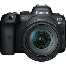 Canon EOS R6 Mirrorless Digital Camera with 24-105mm f/4L Lens