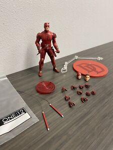 Mezco One 12 Daredevil Red Suit Figure Loose Authentic