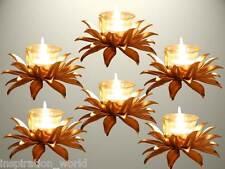 InspirationWorld Modern Decor Jyoti/Deep,Pooja Diwali Lotus Diya T-light set /6