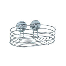 Turbo-Loc Mensola Chrom Acciaio 13,5 x 10,5 x 23,5Cm Silver - Wenko
