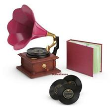 New American Girl Rebecca Phonograph Set~3 records~Record Player~Music~Hanukkah