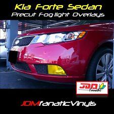 Forte Sedan LX Fog light Rally EDM JDM Yellow TINT Overlays vinyl film Kit