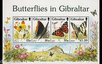 Butterflies of Gibraltar 1997 mnh Souvenir Sheet #731a Schmetterlinge Papillons