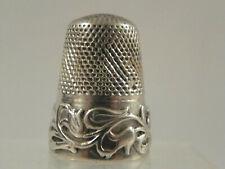 Ancien Dé a coudre argent /Antique french silver thimble/altes Fingerhut Silber
