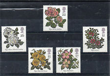 Gran bretaña Flores serie del año 1991 (CP-861)