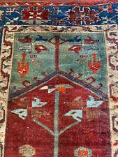Antique hand made Turkish prayer rug size 180x112cm