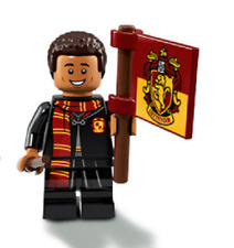 LEGO MINIFIGURA SERIE HARRY POTTER DEAN THOMAS ORIGINAL MINIFIGURE 71022 NEW