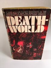 DEATHWORLD By Harry Harrison 1969 Bantam Vintage Science Fiction Paperback