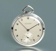 Sottili ULYSSE NARDIN ART DECO frackuhr in acciaio per orologio da tasca 1930 Montre de poche