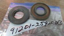NOS Honda Crankshaft Oil Seals 1961 CA72 CB72 CA77 CB77 91201-259-000 QTY2