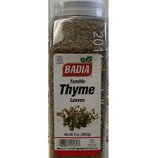 thyme leaves hojas de tomillo 8 oz (226.8g) Serpyllum healing herbal