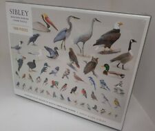 Sibley Backyard Birding 1000 Piece Jigsaw Puzzle North American Birds New Sealed