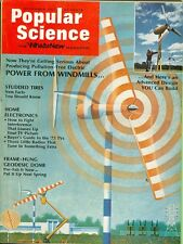 1972 Popular Science Magazine: Power From Windmills/Studded Tires/Geodesic Dome