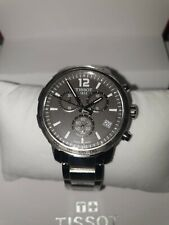 Tissot Quickster Chronograph Anthracite Dial Men's Watch T0954171106700