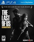 The Last Of US Remastered Playstation 4 PS4 Pro Console New Sealed Ships Fast !!