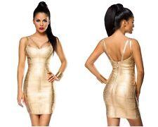 Ärmellose Mini-Damenkleider ohne Muster für speziellen Anlass
