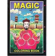 Färbebuch Mini (mit Zaubermotiven) prima Zaubertrick - coloring book