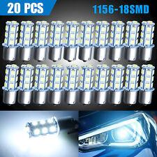 20x Super White 6000k 1156 Ba15s 1141 Turn Signal Backup Reverse Led Light Bulbs