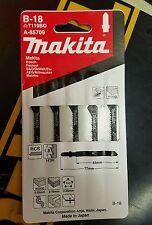 Makita A-85709 Pack Of 5 Pz Jig Saw Blade #B-18 5-Pack