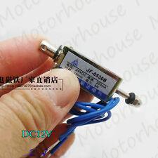Micro MiniMagnet ventil Electromagnet DC 12V Spring push-pull type magnet