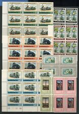 Jamaica Collection Commemorative Stamps Sets Blocks Unmounted Mint