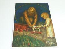 """vintage blank  greeting cards Unused ARS SACRA  """"Spötl """"St.Joseph""""  """"37"""""""