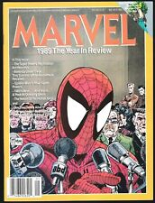 MARVEL COMICS 1989 THE YEAR IN REVIEW TODD McFARLANE SPIDERMAN COVER THE VISION